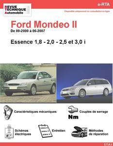 Revue Technique Ford Mondeo II