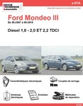 Revue Technique Ford Mondeo III diesel