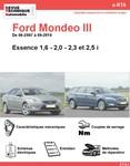 Revue Technique Ford Mondeo III essence