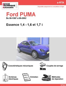 Revue Technique Ford Puma