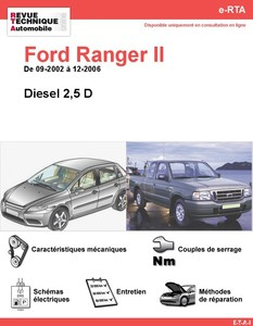 Revue Technique Ford Ranger