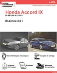 Revue Technique Honda Accord VIII essence