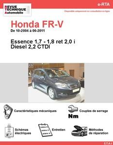 Revue Technique Honda FR-V