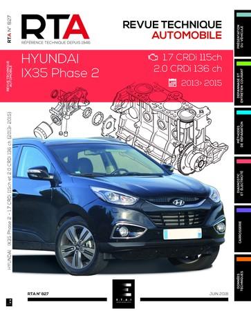 Revue Technique Hyundai ix35 phase 2 CRDi