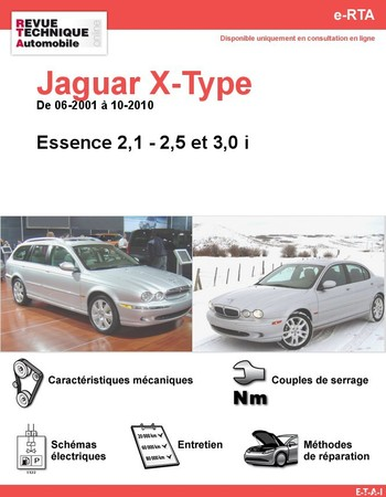 Revue Technique Jaguar X-Type essence