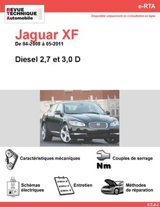 Revue Technique Jaguar XF diesel