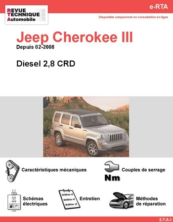 Revue Technique Jeep Cherokee KK diesel