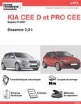 Revue Technique Kia Cee'd et Pro Cee'd essence
