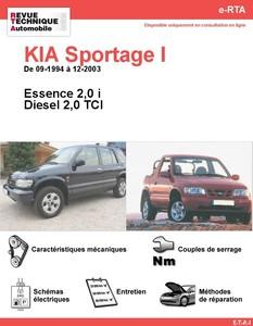 Revue Technique Kia Sportage I