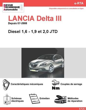 Revue Technique Lancia Delta III diesel