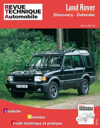 Revue Technique Land Rover Discovery et Defender
