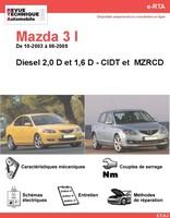 Revue Technique Mazda 3 I diesel