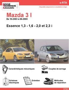 Revue Technique Mazda 3 I essence