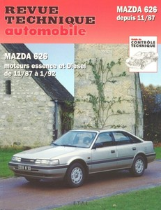 Revue Technique Mazda 626 III