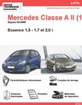 Revue Technique Mercedes Classe A W169 essence