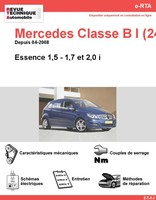 Revue Technique Mercedes Classe B W245 Essence