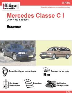 Revue Technique Mercedes Classe C W202 essence