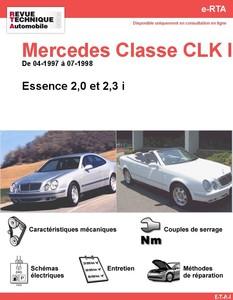 Revue Technique Mercedes Classe CLK W208 essence