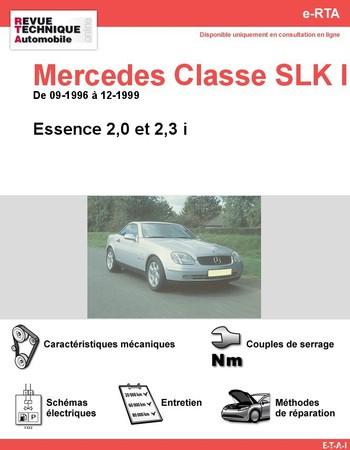 Revue Technique Mercedes Classe SLK W170