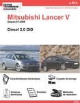 Revue Technique Mitsubishi Lancer V diesel