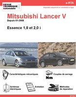 Revue Technique Mitsubishi Lancer V essence