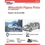 Revue Technique Mitsubishi Pajero Pinin diesel