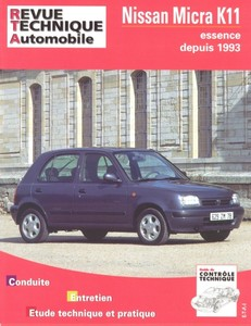 Revue Technique Nissan Micra II (K11) phase 1