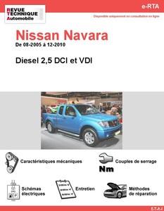 Revue Technique Nissan Navara D40