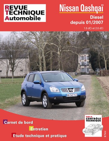 Revue Technique Nissan Qashqai I phase 1 dCi