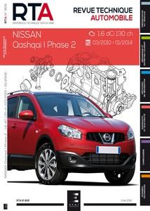 Revue Technique Nissan Qashqai I phase 2 dCi 130