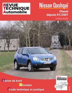 Revue Technique Nissan Qashqai diesel