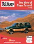 Revue Technique Nissan Terrano II, Ford Maverick