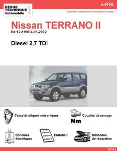 Revue Technique Nissan Terrano II diesel