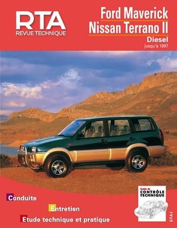 Revue Technique Nissan Terrano II phase 1