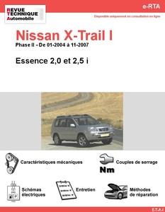 Revue Technique Nissan X-Trail I essence