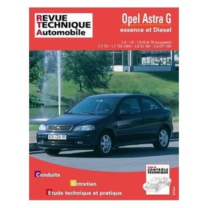 Revue Technique Opel Astra G essence