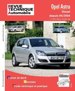 Revue Technique Opel Astra H phase 1 diesel