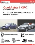 Revue Technique Opel Astra II Coupé 2.0i 200 et OPC