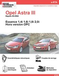 Revue Technique Opel Astra III essence