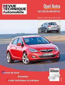 Revue Technique Opel Astra J phase 1 CDTI