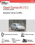 Revue Technique Opel Corsa C essence