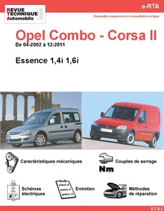 Revue Technique Opel Corsa C essence