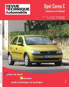 Revue Technique Opel Corsa C phase 1