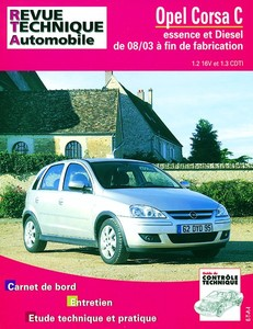 Revue Technique Opel Corsa C phase 2