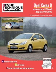 Revue Technique Opel Corsa D phase 1