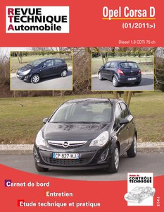 Revue Technique Opel Corsa D phase 2