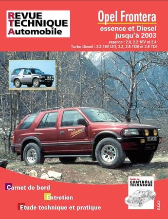 Revue Technique Opel Frontera