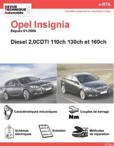 Revue Technique Opel Insignia diesel