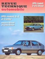 Revue Technique Opel Kadett D et E diesel