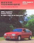 Revue Technique Opel Kadett E essence